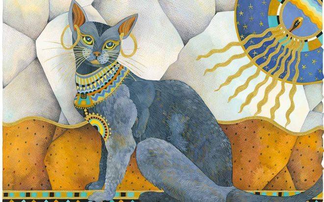 gatto antico egitto