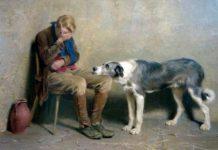 cane riconosce pianto del padrone